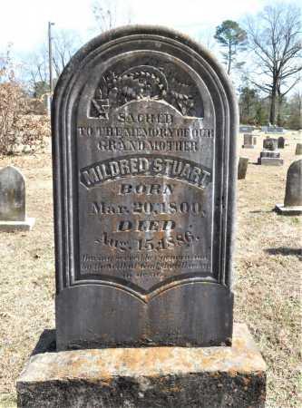 STUART, MILDRED - Hempstead County, Arkansas | MILDRED STUART - Arkansas Gravestone Photos