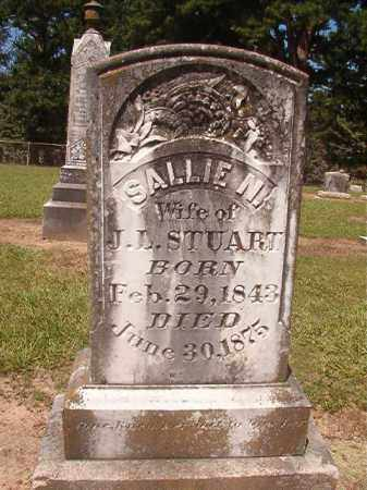 STUART, SALLIE N - Hempstead County, Arkansas | SALLIE N STUART - Arkansas Gravestone Photos