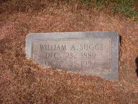 SUGGS, WILLIAM A - Hempstead County, Arkansas | WILLIAM A SUGGS - Arkansas Gravestone Photos