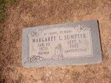 SUMPTER, MARGARET L - Hempstead County, Arkansas | MARGARET L SUMPTER - Arkansas Gravestone Photos