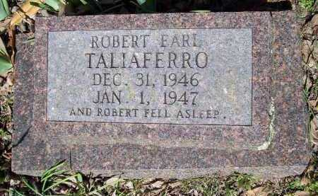 TALIAFERRO, ROBERT EARL - Hempstead County, Arkansas | ROBERT EARL TALIAFERRO - Arkansas Gravestone Photos