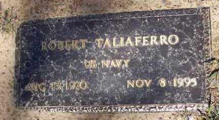 TALIAFERRO (VETERAN), ROBERT ISAAC - Hempstead County, Arkansas | ROBERT ISAAC TALIAFERRO (VETERAN) - Arkansas Gravestone Photos