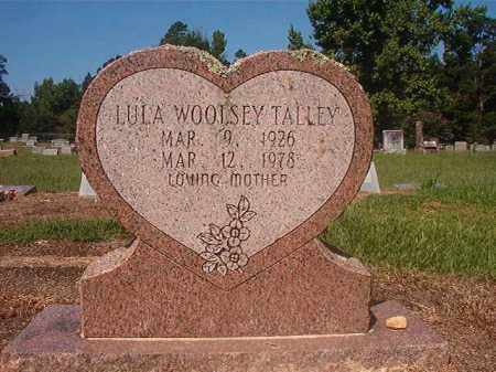 TALLEY, LULA - Hempstead County, Arkansas | LULA TALLEY - Arkansas Gravestone Photos