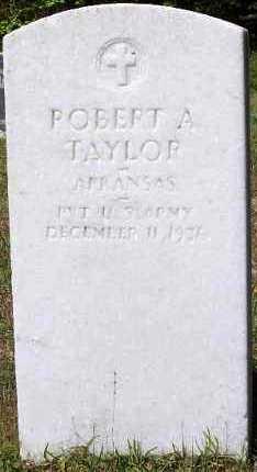 TAYLOR (VETERAN), ROBERT A - Hempstead County, Arkansas | ROBERT A TAYLOR (VETERAN) - Arkansas Gravestone Photos