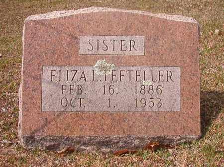 TEFTELLLER, ELIZA L - Hempstead County, Arkansas | ELIZA L TEFTELLLER - Arkansas Gravestone Photos