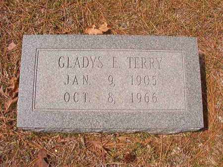 TERRY, GLADYS E - Hempstead County, Arkansas | GLADYS E TERRY - Arkansas Gravestone Photos