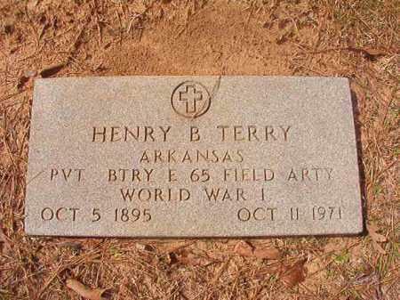 TERRY (VETERAN WWI), HENRY B - Hempstead County, Arkansas   HENRY B TERRY (VETERAN WWI) - Arkansas Gravestone Photos