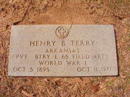 TERRY (VETERAN WWI), HENRY B - Hempstead County, Arkansas | HENRY B TERRY (VETERAN WWI) - Arkansas Gravestone Photos