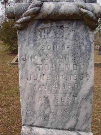 TOLAND, CHAS M - Hempstead County, Arkansas | CHAS M TOLAND - Arkansas Gravestone Photos