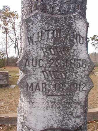 TOLAND, W H - Hempstead County, Arkansas | W H TOLAND - Arkansas Gravestone Photos