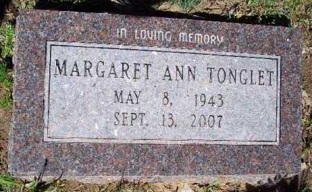 TONGLET, MARGARET ANN - Hempstead County, Arkansas   MARGARET ANN TONGLET - Arkansas Gravestone Photos