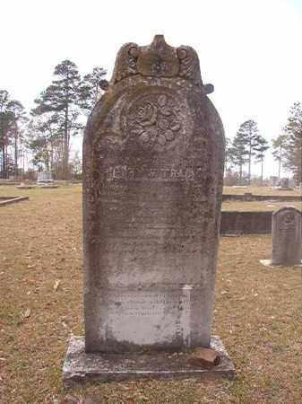 TRACY (VETERAN CSA), HENRY W - Hempstead County, Arkansas   HENRY W TRACY (VETERAN CSA) - Arkansas Gravestone Photos