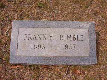 TRIMBLE, FRANKY - Hempstead County, Arkansas | FRANKY TRIMBLE - Arkansas Gravestone Photos
