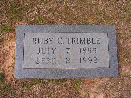 TRIMBLE, RUBY C - Hempstead County, Arkansas | RUBY C TRIMBLE - Arkansas Gravestone Photos