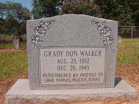 WALKER, GRADY DON - Hempstead County, Arkansas | GRADY DON WALKER - Arkansas Gravestone Photos