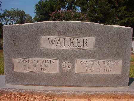 WALKER, LAWRENCE ALVIN - Hempstead County, Arkansas | LAWRENCE ALVIN WALKER - Arkansas Gravestone Photos