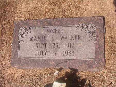 WALKER, MAMIE E - Hempstead County, Arkansas | MAMIE E WALKER - Arkansas Gravestone Photos