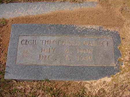 WALLACE, CECIL THEOPHOLIS - Hempstead County, Arkansas | CECIL THEOPHOLIS WALLACE - Arkansas Gravestone Photos