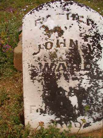 WARD, JOHN W - Hempstead County, Arkansas | JOHN W WARD - Arkansas Gravestone Photos