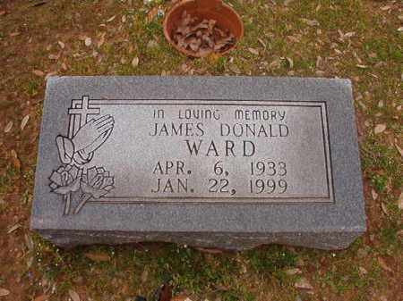 WARD, JAMES DONALD - Hempstead County, Arkansas | JAMES DONALD WARD - Arkansas Gravestone Photos