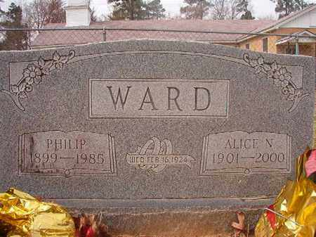 WARD, PHILIP - Hempstead County, Arkansas | PHILIP WARD - Arkansas Gravestone Photos