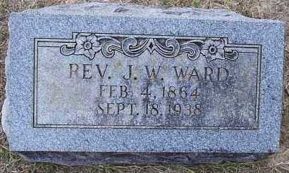 WARD,  REV, J W - Hempstead County, Arkansas | J W WARD,  REV - Arkansas Gravestone Photos