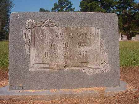 WEBB, WILLIAM P - Hempstead County, Arkansas | WILLIAM P WEBB - Arkansas Gravestone Photos