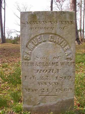 WHEAT, SAMUEL C - Hempstead County, Arkansas | SAMUEL C WHEAT - Arkansas Gravestone Photos