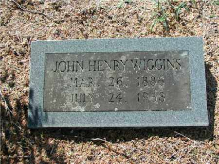 WIGGINS, JOHN HENRY - Hempstead County, Arkansas | JOHN HENRY WIGGINS - Arkansas Gravestone Photos
