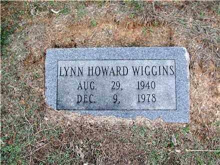 WIGGINS, LYNN HOWARD - Hempstead County, Arkansas | LYNN HOWARD WIGGINS - Arkansas Gravestone Photos