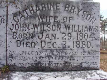BRYSON WILLIAMS, CATHARINE - Hempstead County, Arkansas | CATHARINE BRYSON WILLIAMS - Arkansas Gravestone Photos