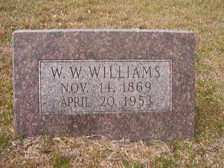 WILLIAMS, W W - Hempstead County, Arkansas | W W WILLIAMS - Arkansas Gravestone Photos