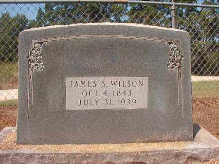 WILSON, JAMES S - Hempstead County, Arkansas | JAMES S WILSON - Arkansas Gravestone Photos