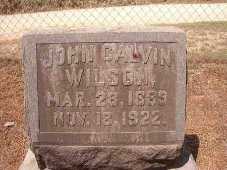 WILSON, JOHN CALVIN - Hempstead County, Arkansas | JOHN CALVIN WILSON - Arkansas Gravestone Photos