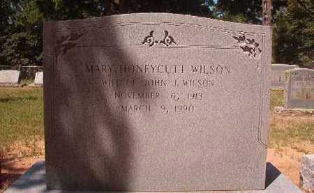 HONEYCUTT WILSON, MARY - Hempstead County, Arkansas | MARY HONEYCUTT WILSON - Arkansas Gravestone Photos