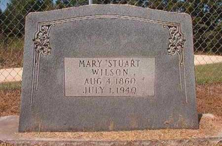 STUART WILSON, MARY - Hempstead County, Arkansas | MARY STUART WILSON - Arkansas Gravestone Photos