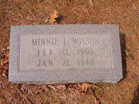 WILSON, MINNIE L - Hempstead County, Arkansas | MINNIE L WILSON - Arkansas Gravestone Photos