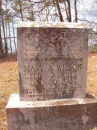 WILSON, MARY A - Hempstead County, Arkansas | MARY A WILSON - Arkansas Gravestone Photos