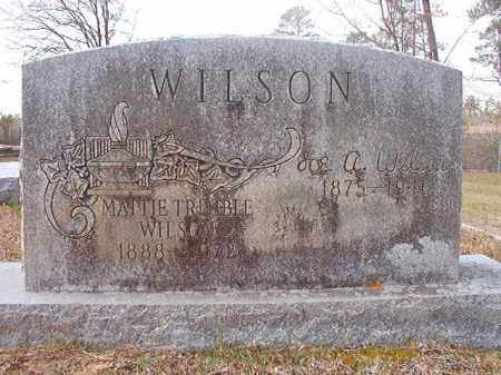 TRIMBLE WILSON, MATTIE - Hempstead County, Arkansas | MATTIE TRIMBLE WILSON - Arkansas Gravestone Photos