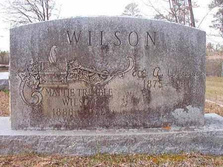 WILSON, JOE A - Hempstead County, Arkansas | JOE A WILSON - Arkansas Gravestone Photos
