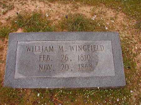 WINGFIELD, WILLIAM M - Hempstead County, Arkansas | WILLIAM M WINGFIELD - Arkansas Gravestone Photos
