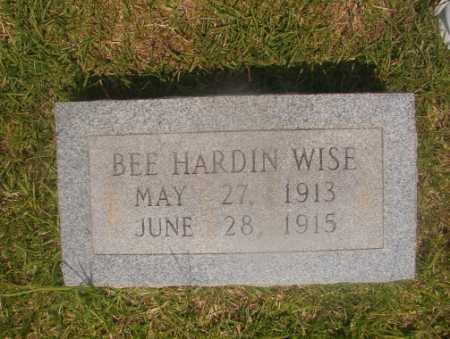 WISE, BEE HARDIN - Hempstead County, Arkansas | BEE HARDIN WISE - Arkansas Gravestone Photos