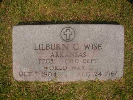 WISE (VETERAN WWII), LILBURN C - Hempstead County, Arkansas | LILBURN C WISE (VETERAN WWII) - Arkansas Gravestone Photos