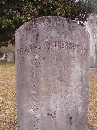 WITHERSPOON, FRANKIE - Hempstead County, Arkansas | FRANKIE WITHERSPOON - Arkansas Gravestone Photos