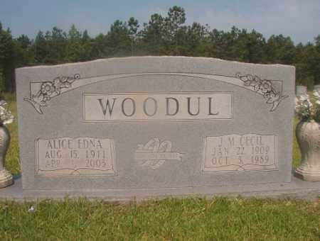 WOODUL, J M CECIL - Hempstead County, Arkansas | J M CECIL WOODUL - Arkansas Gravestone Photos