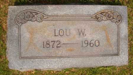 WOODUL, LOU W - Hempstead County, Arkansas | LOU W WOODUL - Arkansas Gravestone Photos
