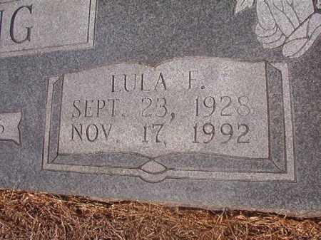 YOUNG, LULA F (CLOSEUP) - Hempstead County, Arkansas | LULA F (CLOSEUP) YOUNG - Arkansas Gravestone Photos
