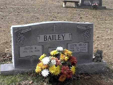 BAILEY, JR, LECIL MORRIS - Hot Spring County, Arkansas | LECIL MORRIS BAILEY, JR - Arkansas Gravestone Photos