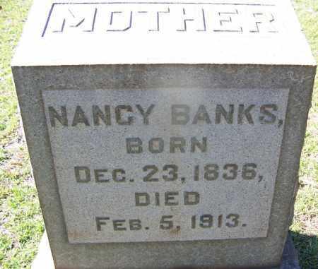 BANKS, NANCY - Hot Spring County, Arkansas | NANCY BANKS - Arkansas Gravestone Photos