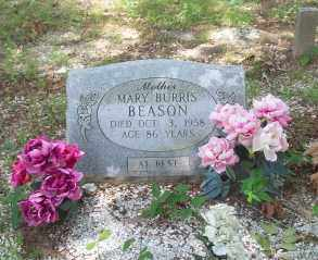 BURRIS BEASON, MARY - Hot Spring County, Arkansas | MARY BURRIS BEASON - Arkansas Gravestone Photos